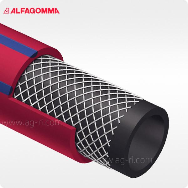 Шланг напорный Alfagomma 984AH в разрезе