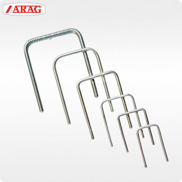 Скобы Arag для фиксации фитингов