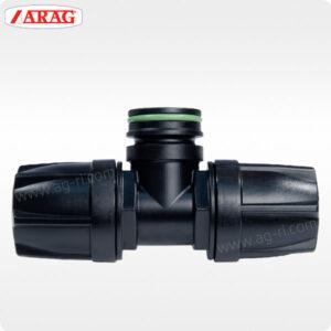 Швидкороз'ємний трійник ARAG EASYFIT для труби