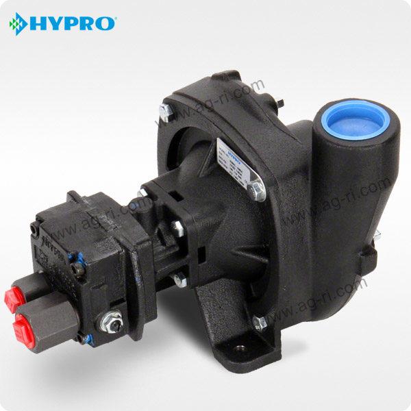 Центробежный насос Hypro 9306C-HM5C-B с гидроприводом, чёрный