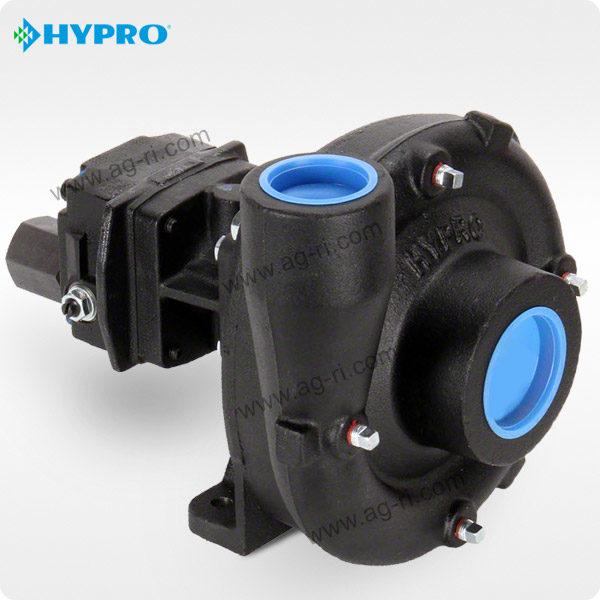 Центробежный насос Hypro 9306C с гидроприводом, чёрный