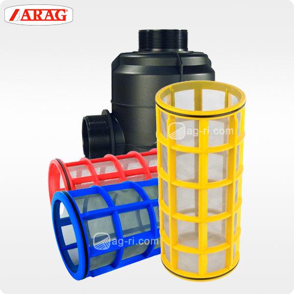 всмоктуючий фільтр Arag 319 серії з фільтроелементамі на обприскувач